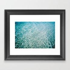 Calm Sound Framed Art Print