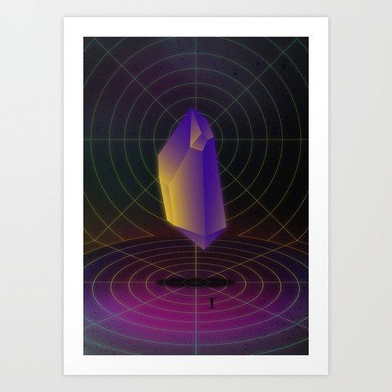 Diamond Dimensions #2 Art Print