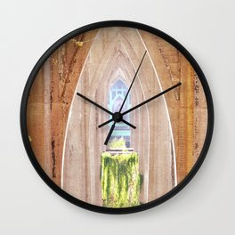 CATHEDRAL PARK ARCHES - ST. JOHNS BRIDGE Wall Clock