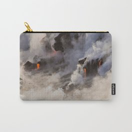WATER MEETS LAVA Carry-All Pouch