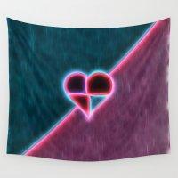 valentine Wall Tapestries featuring Valentine by Traven Milovich