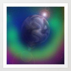 Auric Planet Art Print