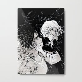 Ymir and Christa Metal Print