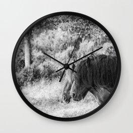 Pair of horses Wall Clock