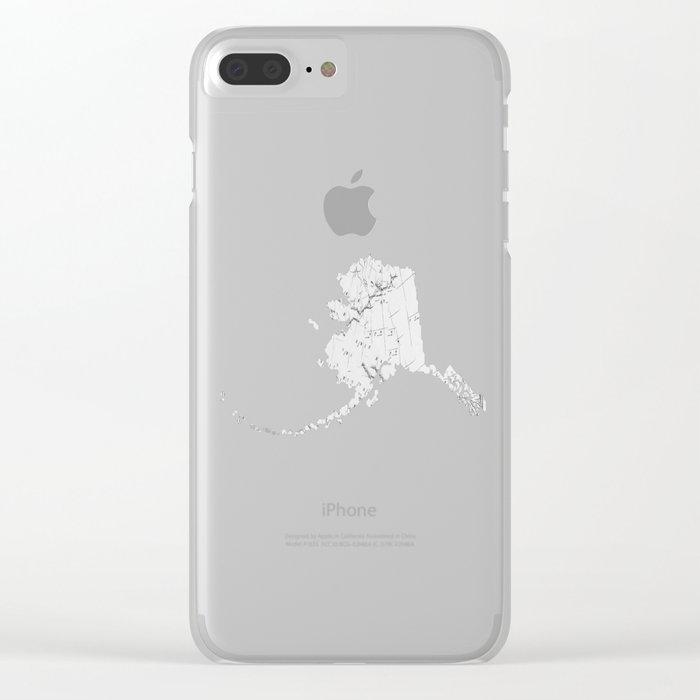 Draining Alaska Clear iPhone Case