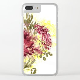 Scents & Color Clear iPhone Case