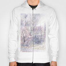 Snow in early fall(2). Hoody