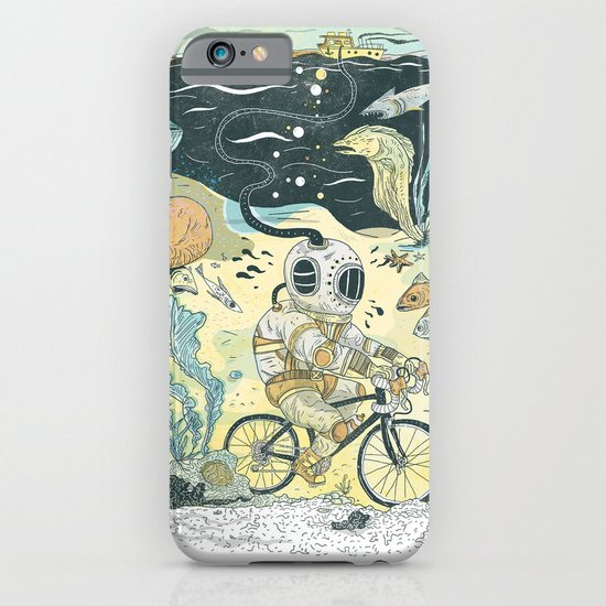 Cycling in the Deep iPhone & iPod Case