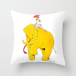 Newyorkers Throw Pillow