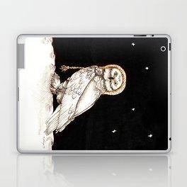 Starry Night Owl Laptop & iPad Skin