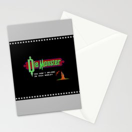 Castlevania - Die Monster. You Don't Belong In This World! Stationery Cards