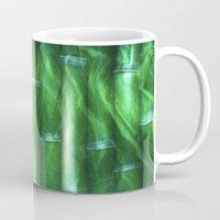 bamboo Mugs featuring Bamboo by Digital-Art
