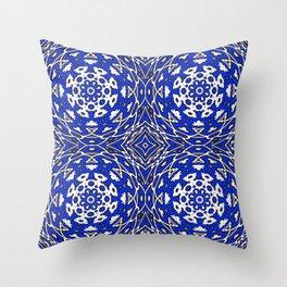 ornament illusion volume Throw Pillow