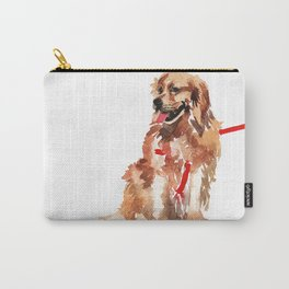watercolor dog vol 17 golden retriever Carry-All Pouch