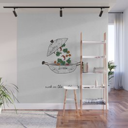 Wok On The Wild Side, Music Quote Wall Mural