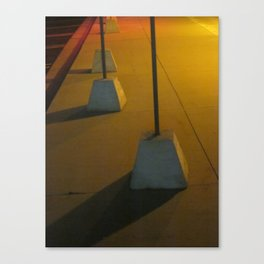 Marching In Yellow Canvas Print