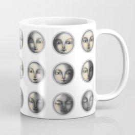 moon phases and romanticism Coffee Mug