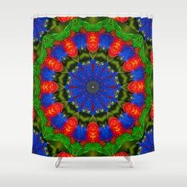 Feather Mandala 2 Shower Curtain