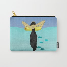 Floating Your Cares Away Carry-All Pouch