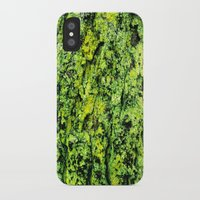 moss iPhone & iPod Cases featuring Moss by kirstenariel