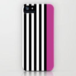 Liquorice allsorts, dark pink iPhone Case