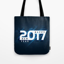 Happy New Year 2017 Tote Bag