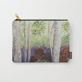 Birch Trees in Heaven Carry-All Pouch
