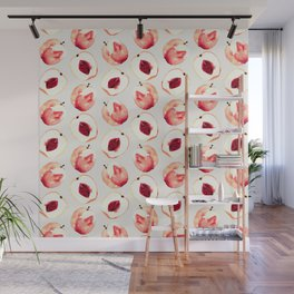 Pink Peach Pattern I Wall Mural
