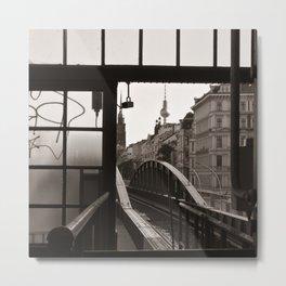 BERLIN TELETOWER - urban landscape Metal Print