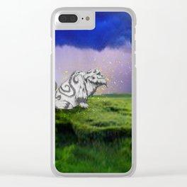 I Believe In Gruff Clear iPhone Case