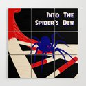 Pulp-Style Novel Cover - Into the Spider's Den by dotstarstudios