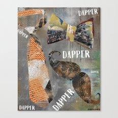 Dapper Canvas Print