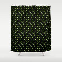 Tessellating Geckos Shower Curtain