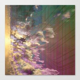Spatial Factor 303 / Texture 02-11-16 Canvas Print