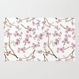 Sakura Cherry Blossoms Rug