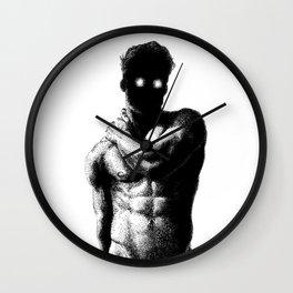 Joe - Spooky Booty Nood Dood Wall Clock