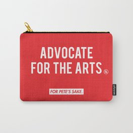ADVOCATE FOR THE ARTS Carry-All Pouch