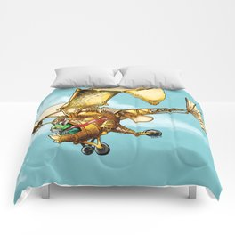 Flying Machine Comforters