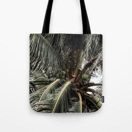 Green Coconuts Tote Bag