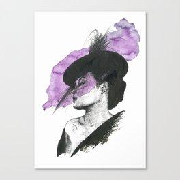 Billie Holiday Portrait Canvas Print