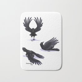 Yoga Raven Bath Mat