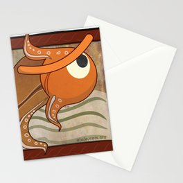 angry fish eye Stationery Cards