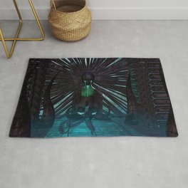 H.R. Giger Tribute - Skull Fountain Rug