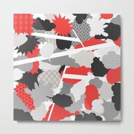 Japanese Patterns 15 Metal Print