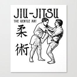 Jiu-jitsu The Gentle Art Canvas Print