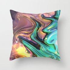 720 Fractal Throw Pillow