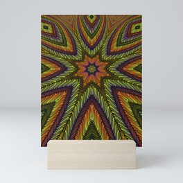 Kaleidoscopic vol. I: The Three-Eyed Golden Octopus Mini Art Print
