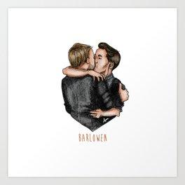 That's Amore.... Barlowen Art Print