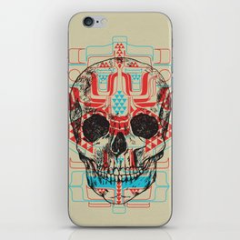 Skull Native iPhone Skin
