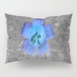 flower in blue Pillow Sham